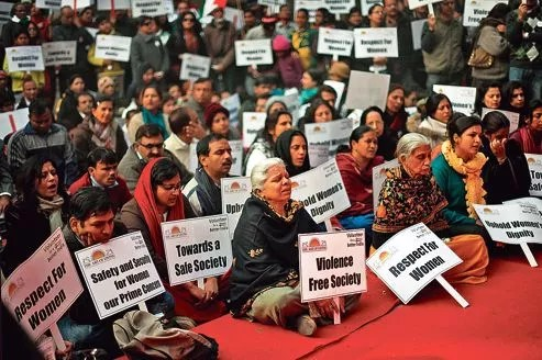 Manifestation samedi à New Delhi après la mort de la jeune étudiante.