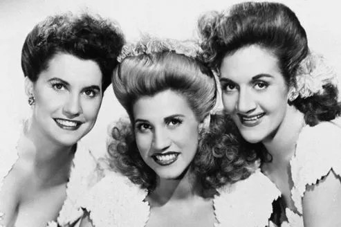 Maxene, Patty et LaVerne Andrews en 1947.