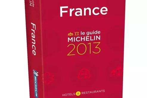 L'édition 2013 du célèbre Guide Rouge.