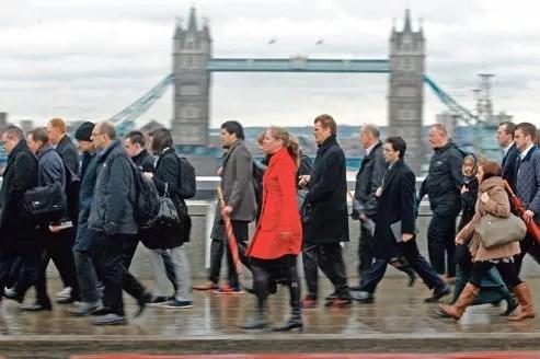 Si l'on sait que de nombreux entrepreneurs partent s'installer à l'étranger (ci-dessus: Londres), des statistiques officielles, récentes et complètes font défaut.