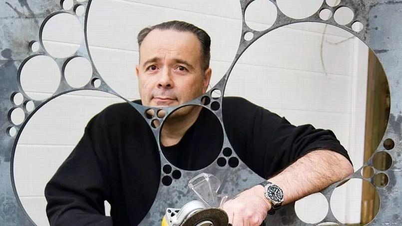 Thierry Ehrmann, sculpteur.
