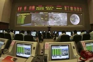 Le centre de contrôle chinois.