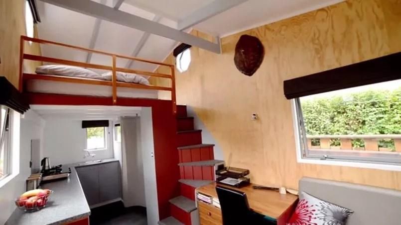 La maison «nomade» dans son ensemble.
