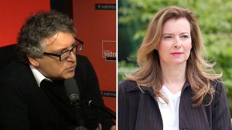 À l'antenne de France Inter, ce matin, Michel Onfray a été très critique à l'égard de Valérie Trierweiler.