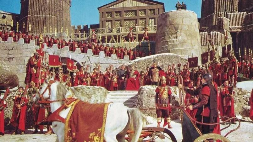 La Chute de l'empire romain, film réalisé par Anthony Mann (1964)