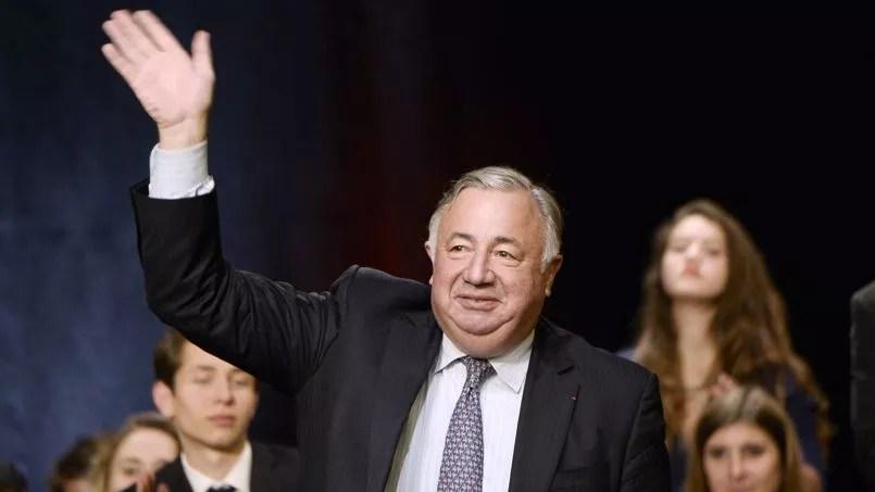 Gérard Larcher, président UMP du Sénat