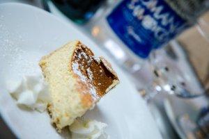 Italian Cheesecake at Le Fontane Restaurant