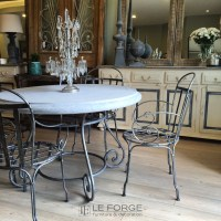 Tables : Barney's Table Base Large hand forged steel