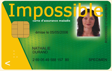 Carte Vitale Impossible