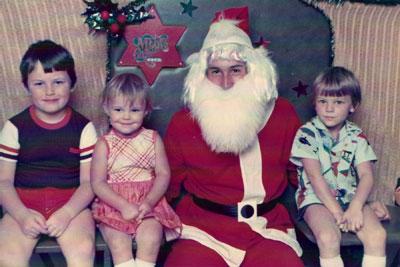 Santa snap
