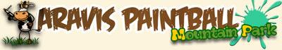 <Aravis Paintball Mountain Park in Saint Jean de Sixt, France>