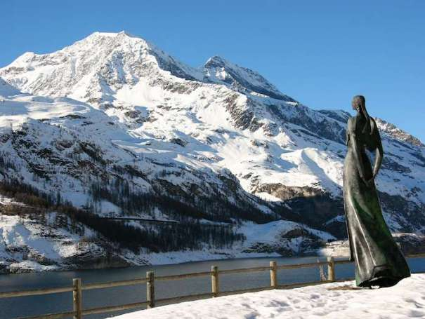 Lady of the Lake Tignes, France