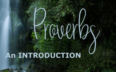 Intro to Proverbs