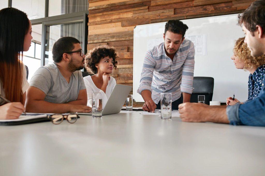 Stock Image: Meeting