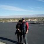 Linda Watanabe McFerrin and Joanna Biggar in transit