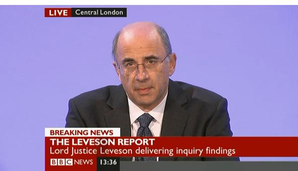 Leveson report