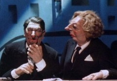 Thatcher & Reagan on Spitting Image