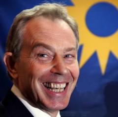 Blair smiling
