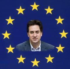 Ed M in EU flag