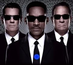 EU Troika aka Men in Blank - pic by Sony