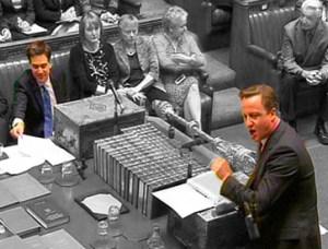 David Cameron & Ed Miliband at PMQs
