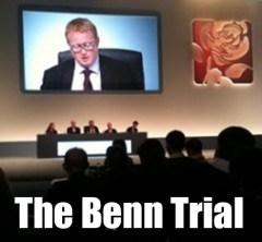 Luke Akehurst presiding over the Benn trial