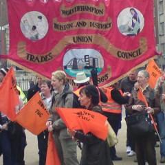 Wolverhampton Trades Council banner