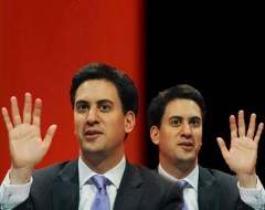Two faces of Miliband