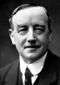Labour Party leader and later Nobel Peace Prize winner, Arthur Henderson