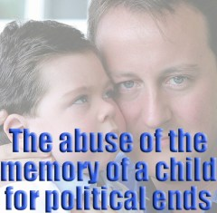 Abuse of a childs memory for political ends