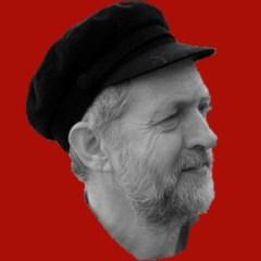 Corbyn on red