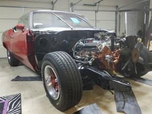 cutlass-455-motor-install-10