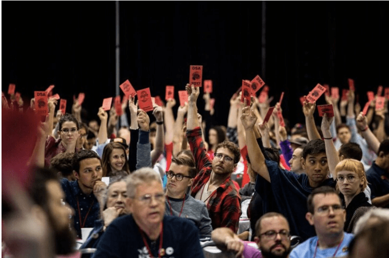 five dsa convention resolutions