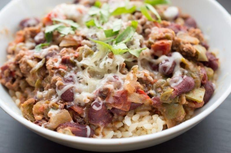 Ground Turkey Instant Pot Meals - Instant Pot Turkey Chili | Lefty Spoon