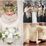 Mariage en hiver, un rêve orné de blanc…