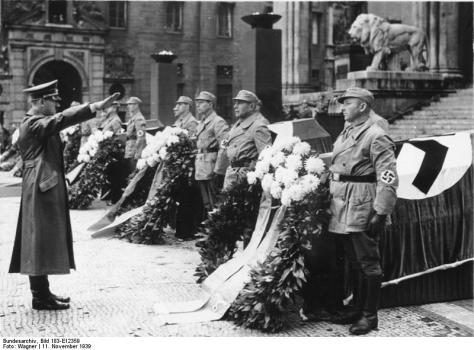 Deutsches Bundesarchiv (German Federal Archive), München, Adolf Hitler vor Feldherrenhalle. It must be remembered that not all transformational leaders produce positive social change.
