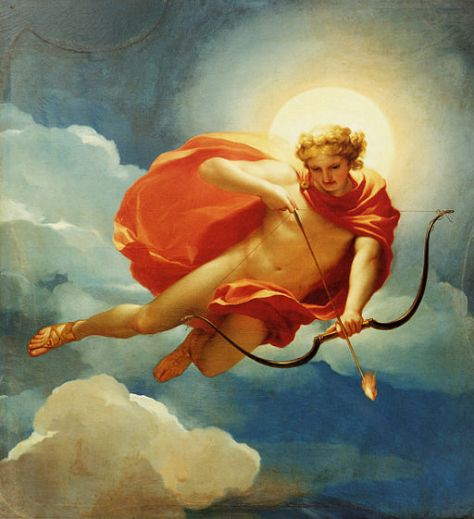 Anton Raphael Mengs (1728–1779): Mengs,_Helios_als_Personifikation_des_Mittages. Most of us, have no idea what our strengths are, let alone our weaknesses. This image symbolizes the special skill of archery (and I suppose) of flying.