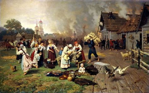 Nikolai Dmitriev-Orenburgsky (1837–1898): Fire in the Village. While some changes are obvious, many still find themselves unprepared to deal with it when it occurs.