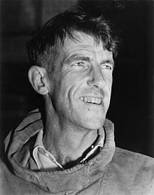 Edmund Hillary. Who along with his sherap guide, Tenzig Norgay become the first humans to climb Mt Everest, the highest mountain on the earth.