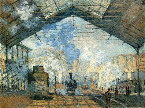 Claude Monet (1840–1926): La Gare Saint-Lazare de Claude Monet