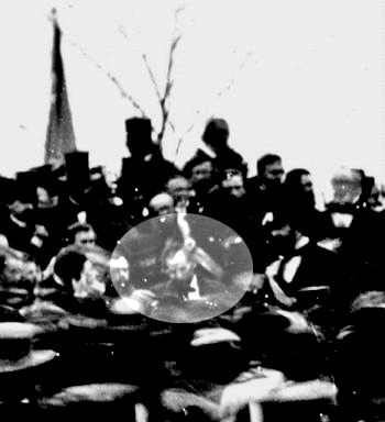 Lincoln at Gettysburg (Wikimedia Commons / David Bachrach)