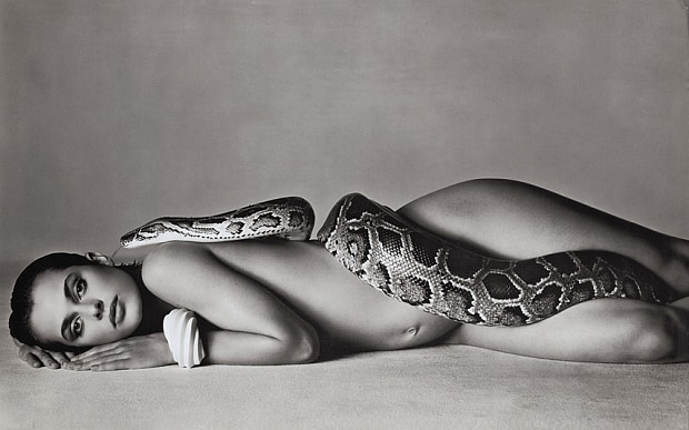 Richard Alvedon - Natassja Kinski and the Serpent