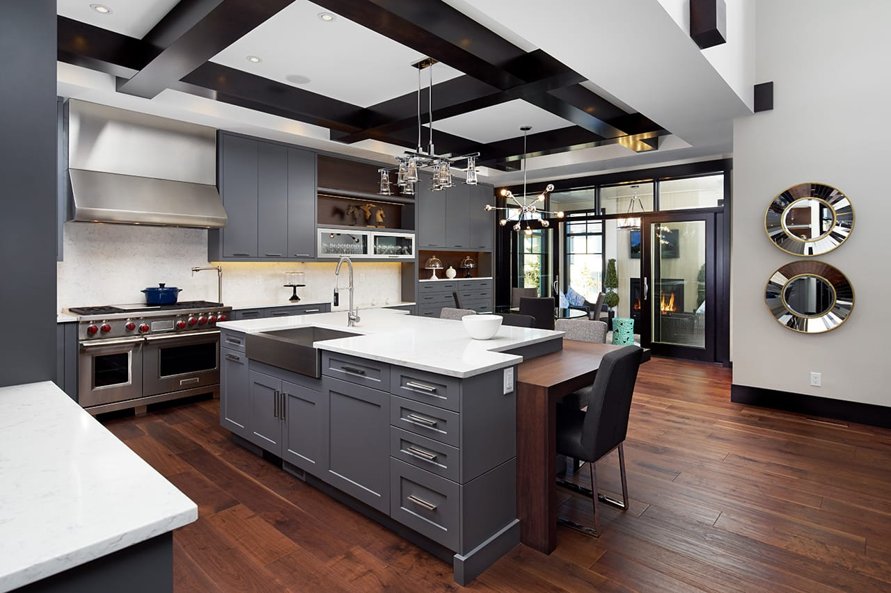 drop in stainless steel kitchen sink fauset design brief: cozy modern transitional - legacy kitchens news