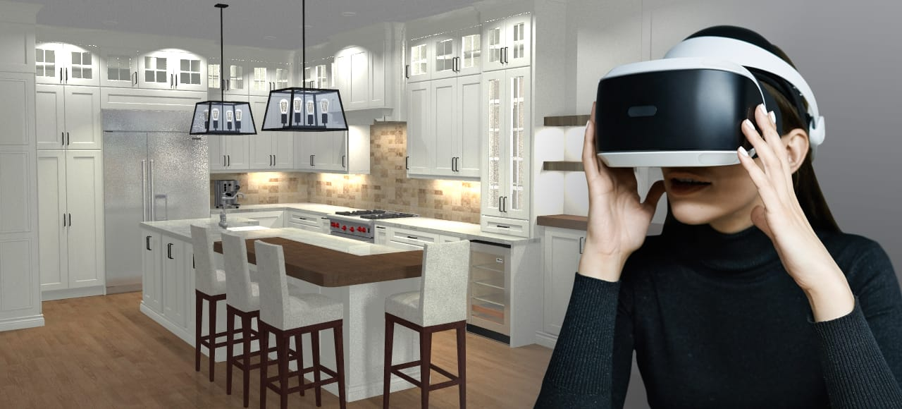 design a kitchen mission style table technology virtual reality for renovations legacy