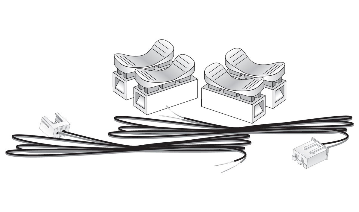 Woodland Scenics 5684 Just Plug n Play Ext Cable Kit