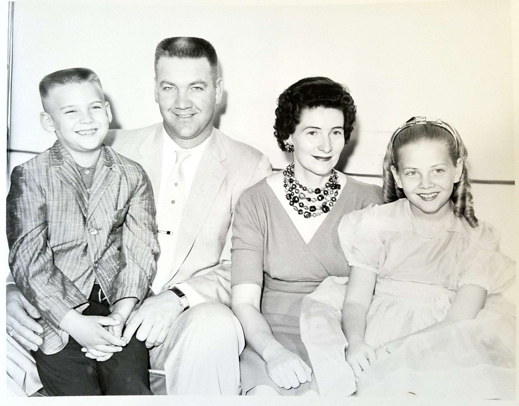 1961 Cannon Family picture post-play performance