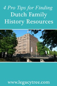 Dutch family history resources