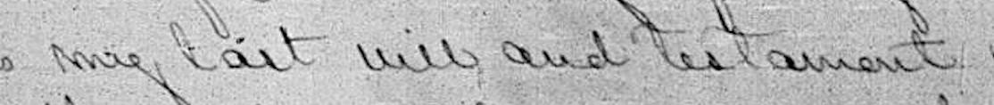 tips for reading old handwriting in tracing family trees