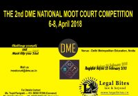 DME Moot 2018
