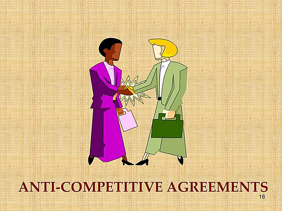 Anti-Competitive Agreements under Competition Law